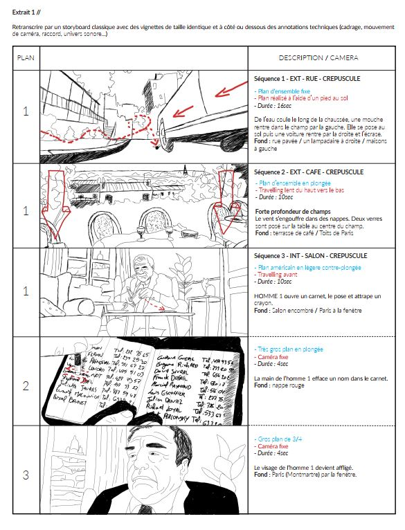 Storyboard d